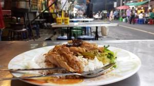 タイ料理を食す